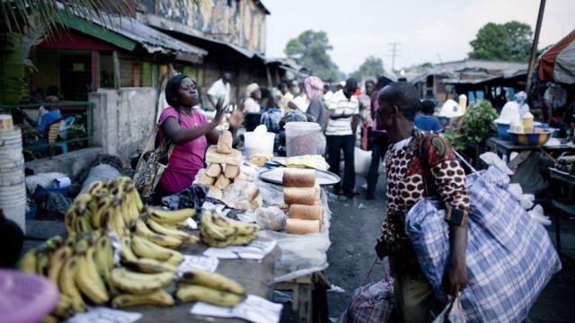 Un marché de Kinshasa (archives)