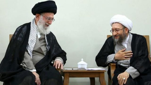 لاریجانی و خامنهای