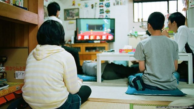 Children playing in Tamagawa Free School