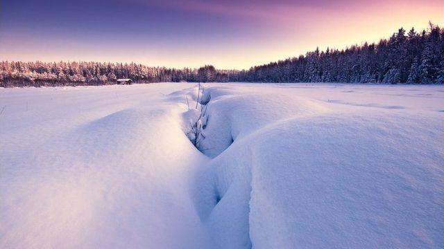 芬兰的冬天