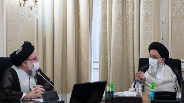 محمدرضا مدرسی یزدی و احمد خاتمی