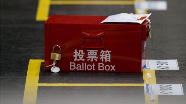 記録的な投票率で開票作業が遅れた(5日)
