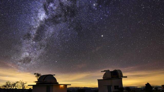 Vista estrelada do laboratório de Itajubá