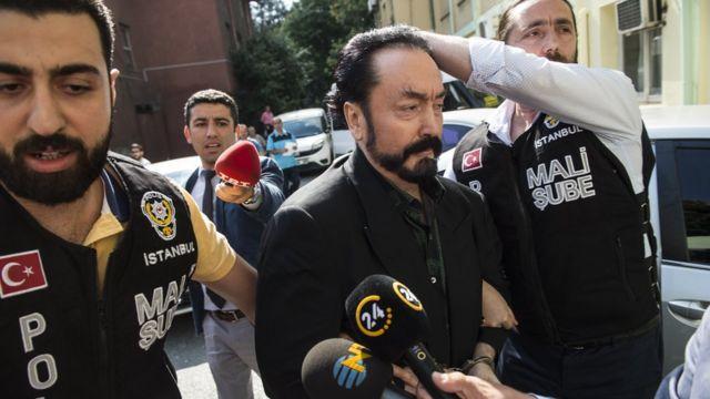Adnan Oktar ditahan
