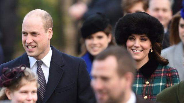 Герцог и герцогиня Кембрижские