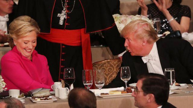 Trump y Hillary Clinton