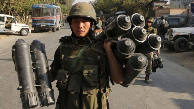 भारतीय सैनिक की फाइल फोटो