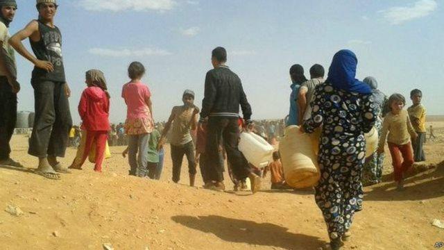 'Yan gudun hijirar Syria a Jordan