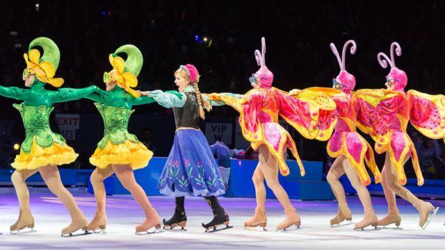 Producción de Disney on Ice