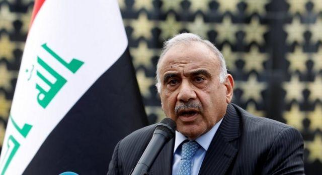 Irak Başbakanı Adil Abdülmehdi