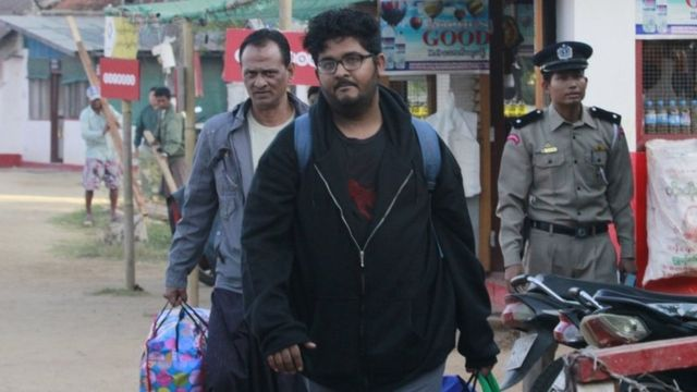 Myanmar frees TRT journalists jailed for flying drone