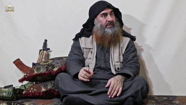 Əbu Bəkr əl-Bağdadinin bir videosu 2019-cu ilin aprel ayında yayılmışdı.