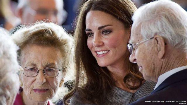 Jean, George a duquesa de Cambridge