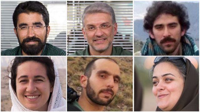از سمت راست امیر حسین خالقی، هومن جوکار، طاهر قدیریان، سپیده کاشانی، سام رجبی، نیلوفر بیانی