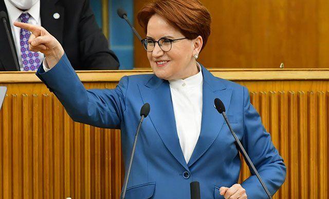 İYİ Parti Genel Başkanı Merak Akşener