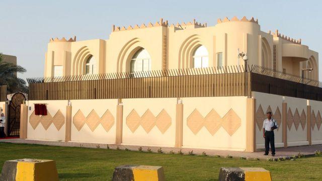 مقر مكتب حركة طالبان في الدوحة.