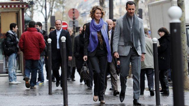 Asma y Bahsar al Asad