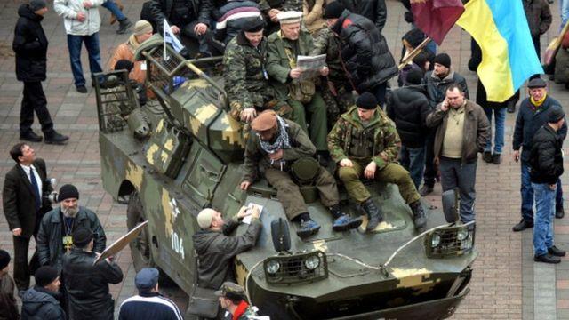 Ndị agha Ukrain