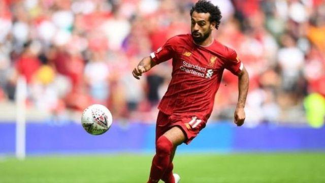 Mshambuliaji matata wa klabu ya Liverpool na Misri Mohammed Salah