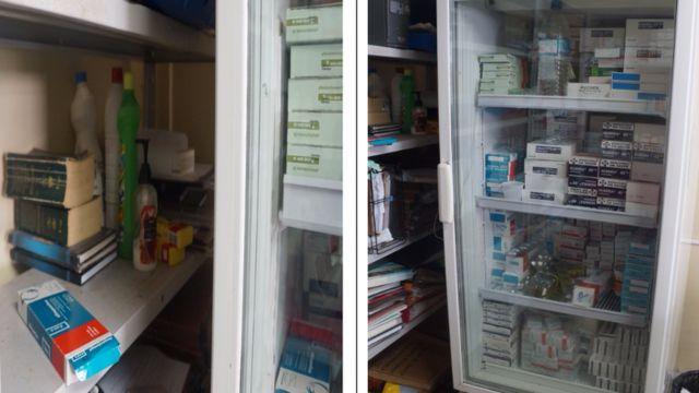 Medicamentos armazenados de forma incorreta em instalação do SUS no Amapá