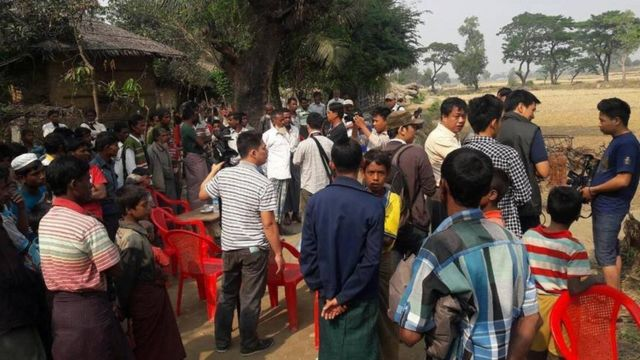 Foreign and local correspondents are allowed to go to Maungdaw