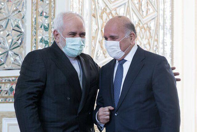 عکس خبرگزاری ایسنا از دیدار فواد حسین و محمد جواد ظریف
