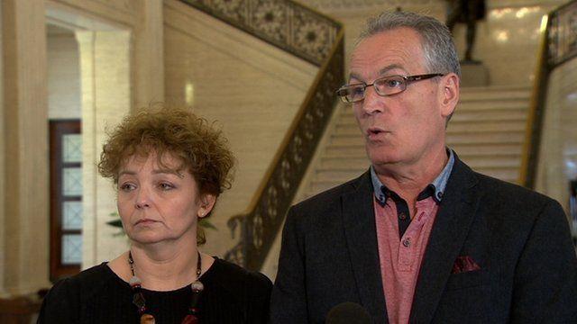 """Sinn Féin's Gerry Kelly accused Mike Nesbitt of trying to """"create a crisis"""""""