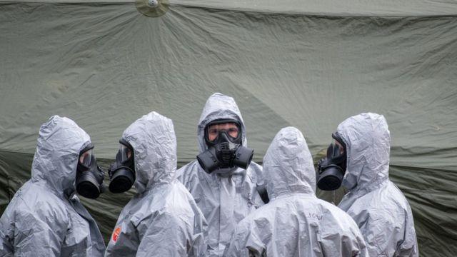 На місці події працювали військові хіміки
