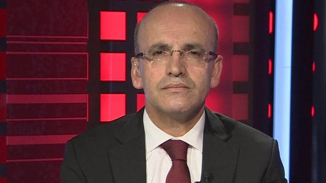 Turkey's deputy prime minister Mehmet Simsek