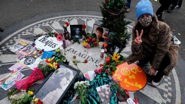 мемориал Леннону в Центральном парке