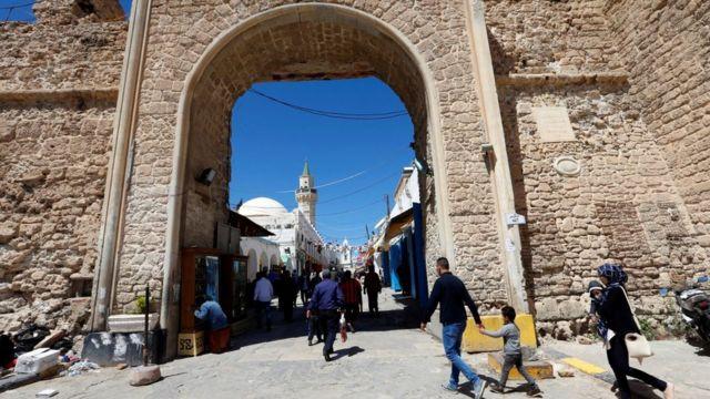 рынок в Триполи