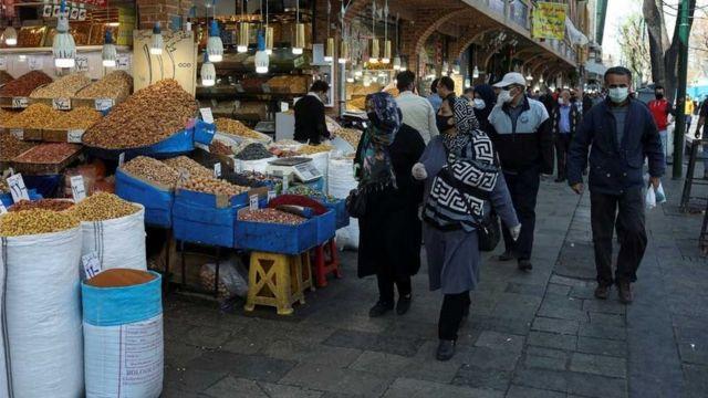 بازار در تهران