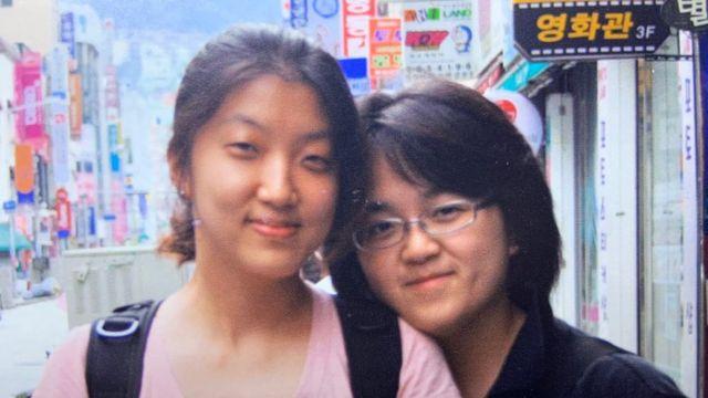 2006년 부산에서 박혜정-제이미 챙 부부