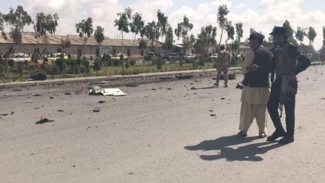 انفجار ماین مغناطیسی در قندهار جان فرمانده واکنش سریع پلیس قندهار و ۳ محافظ او را گرفت