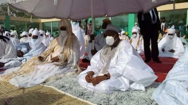 """Eid al-fitr 2021 wishes"": [Eid prayers] from 'Aso Rock' and across Nigeria"