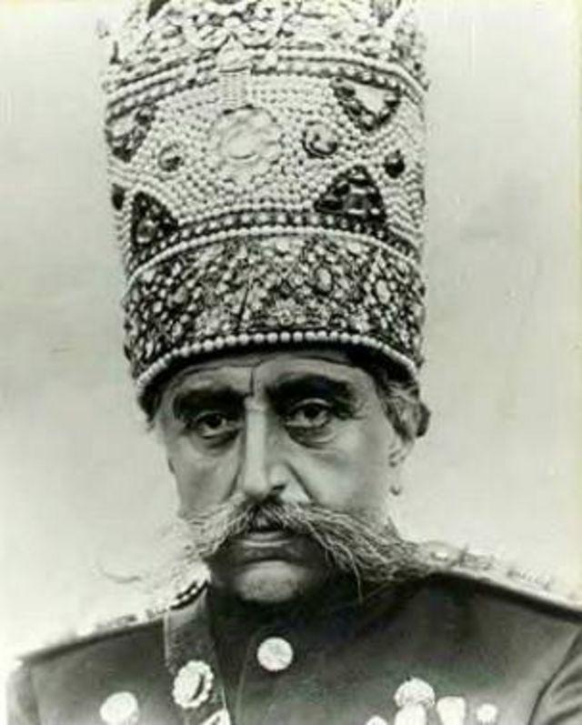 تصویر مظفّرالدّین شاه قاجار