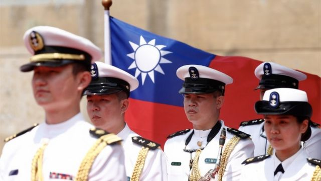 台湾海军仪仗队