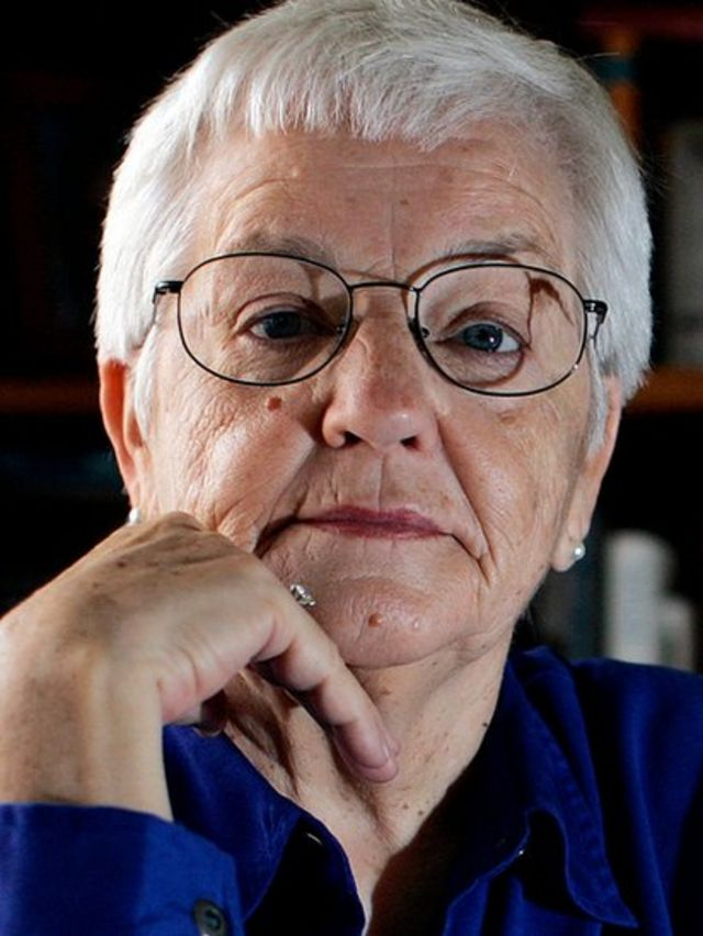 Portrait of Jane Elliott.