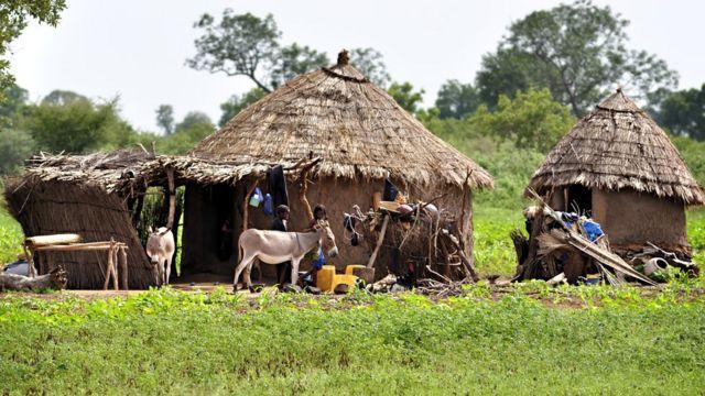 Aworan abule awọn Fulani