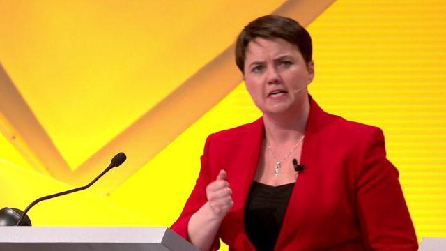 スコットランド保守党のデイビッドソン氏は残留を支持