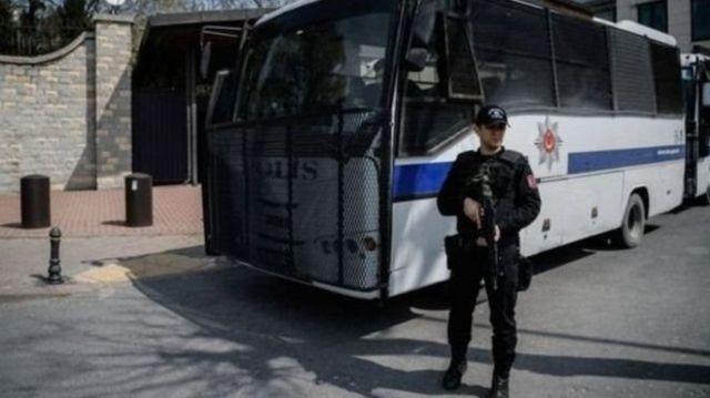 gözaltı otobüsü