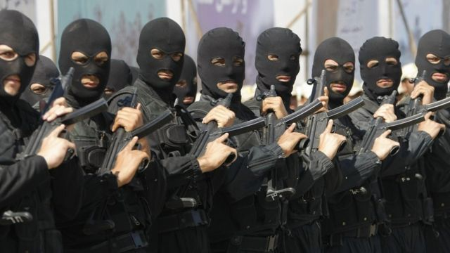 رژه پلیس ضد تروریسم ایران