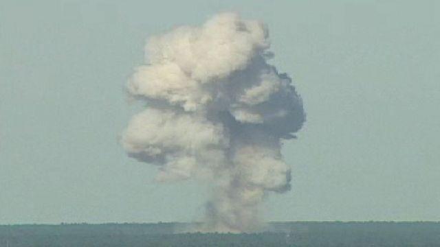 ABD'nin Florida'daki bomba denemesi