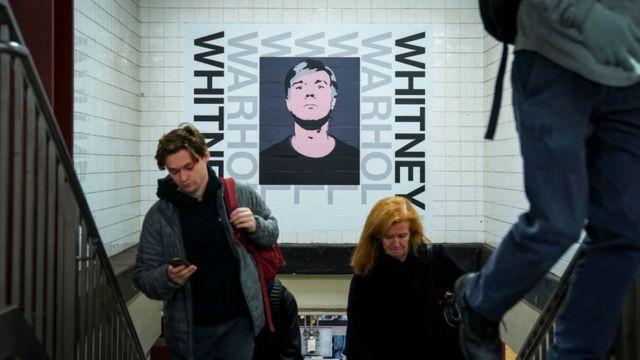 La estación de metro de la Calle 14 en el distrito de Chelsea, en Manhattan, Nueva York.