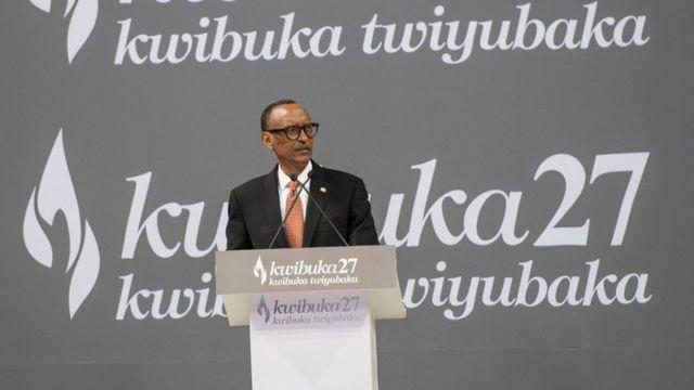 Perezida Paul Kagame