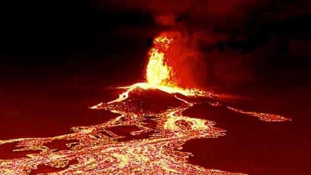 La Palma: las impresionantes imágenes de la erupción del volcán Cumbre  Vieja en las islas Canarias - BBC News Mundo