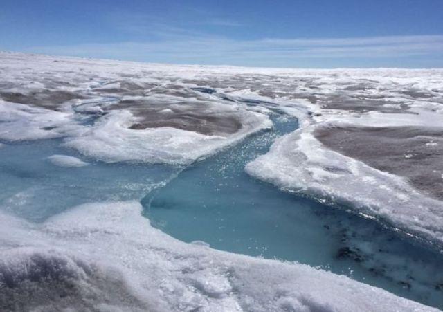 แผ่นน้ำแข็งกรีนแลนด์ครอบคลุมพื้นที่กว้างกว่าประเทศไทยถึง 3 เท่า