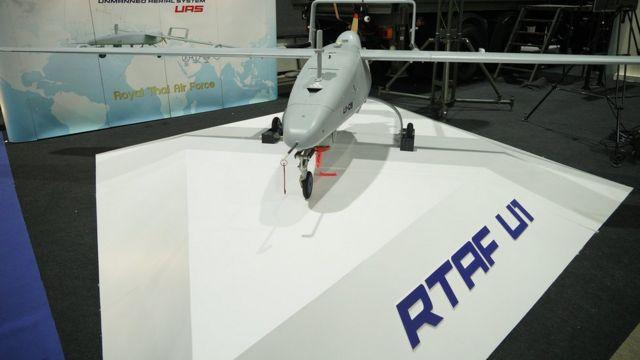 อากาศยานไร้คนขับ UAV RTAF U1 เพิ่งเปิดตัวไปโดยกองทัพอากาศ ซึ่งระบุว่า ออกแบบและผลิตเองโดยคนไทย 90%
