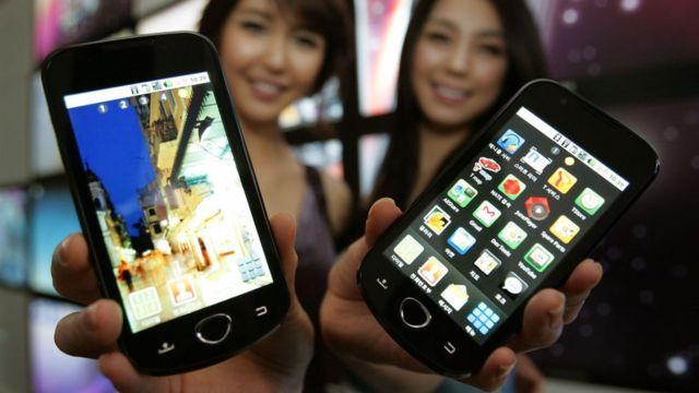 Celulares Samsung de 2010
