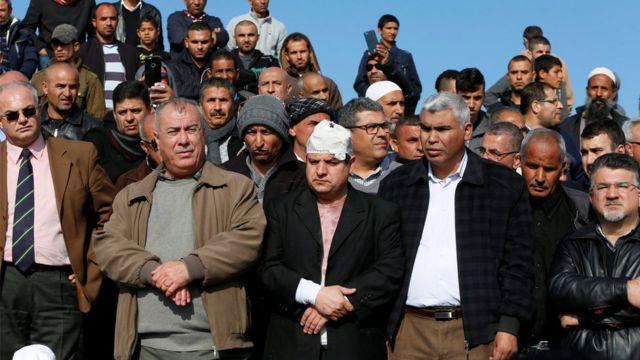 اعضاء عرب في الكنيست بين المحتجين